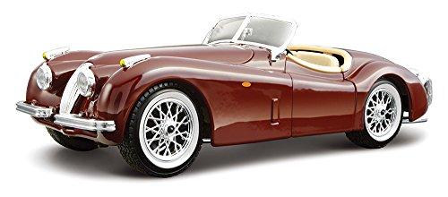 Bburago-15622018-Bijoux-124-Jaguar-XK-120-Roadster-1951-farbe-sortiert
