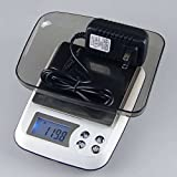 Qunqi LCD Display Multifunction 0.1g*3kg Digital Kitchen Food Scale 0.1g-6.61lb Smart weighing with AC Adatper (0.1x3000g(AC Adapter))