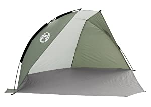 Coleman Sundome Beach Shelter with UV Guard - Green