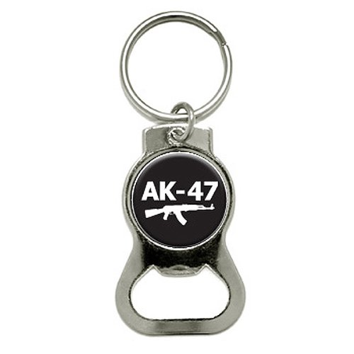 Graphics and More Assault Rifle AK-47 Gun Weapon Bottle Cap Opener Keychain (KB0345) (Ak 47 Bottle Opener compare prices)