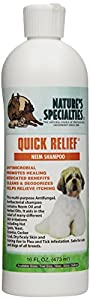 Nature's Specialties Quick Relief Neem Shampoo for Pets, 16-Ounce