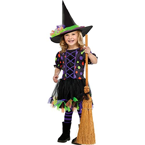 Polka Dot Witch Toddler Costume