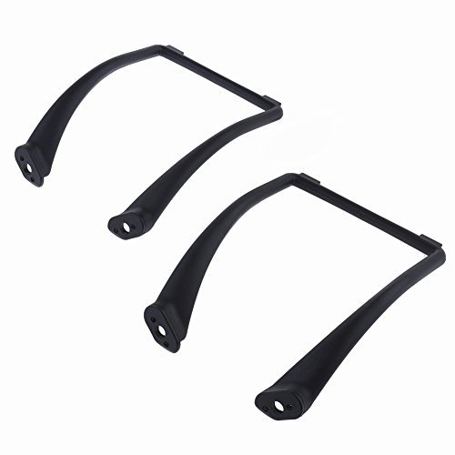 Neewer® Extended Widened Landing Skid with Foot Pad for DJI Phantom 1&2 Vision Quadcopter, Black Color