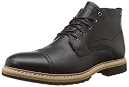 Timberland Men\'s West Haven Waterproof Chukka Black Full Grain 14 D - Medium