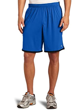 Champion Men's Intent Short, Team Blue/Black, Small