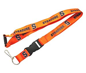 Buy NCAA Syracuse Orangemen Team Logo Clip Lanyard Keychain Id Ticket Holder Orange by aminco