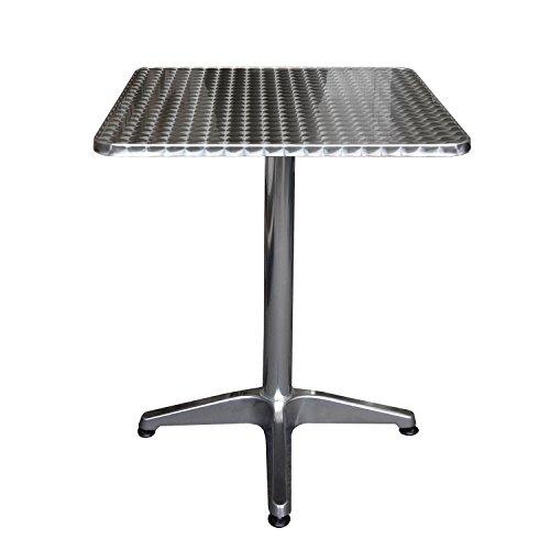 Aluminium-Bistrotisch-60x60x70cm-Klapptisch-Beistelltisch-Gartentisch-Balkontisch-Frhstckstisch-4-Fukreuz-Gartenmbel-Balkonmbel-Terrassenmbel