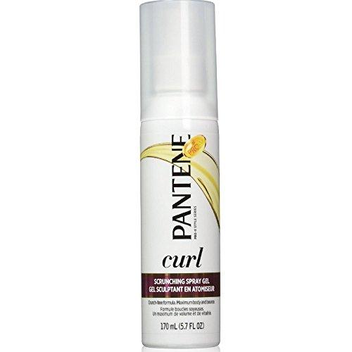 Pantene-Gel Spray Pro-V rehausse-boucles-Soluzioni per capelli ricci-revigore orecchini e vaghi-165ml (Set di 3)