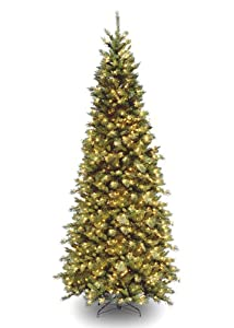 #!Cheap Tiffany Fir Artificial Christmas Tree with Lights