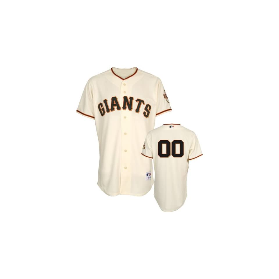 Hunter Pence Jersey San Francisco Giants #8 Home Ivory Authentic Jersey