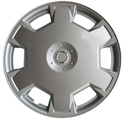 "Drive Accessories KT-1017-15S/L, Nissan Versa, 15"" Silver Replica Wheel Cover, (Set of 4)"