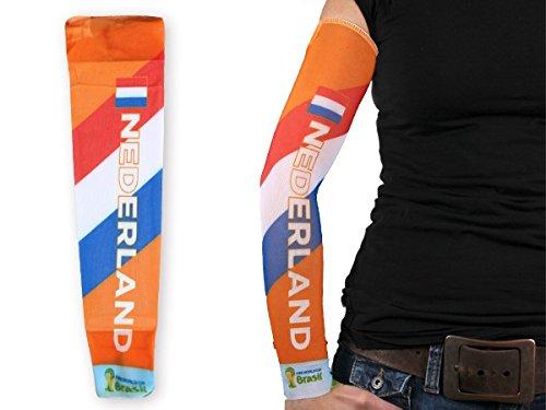 1 manica con tattuaggio finto in stile calcio per tifosi bandiera nazionale internazionale paesi mondiali europei spettacolo braccia coppa estate elastico per uomini e donne, :Olanda 101