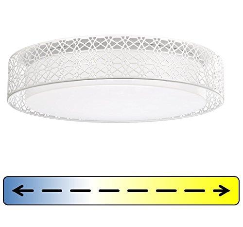 LED-Deckenleuchte-Deckenlampe-rund-mit-Fernbedienung-Flur-Kche-DIMMBAR