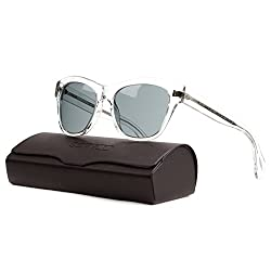 Oliver Peoples OV5233S Sofee Sunglasses 1101/1 Translucent Crystal / Grey 53 mm