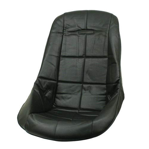 Low Back Poly Seat Shells Dunebuggy /& VW With Black /& Grey Seat Cover