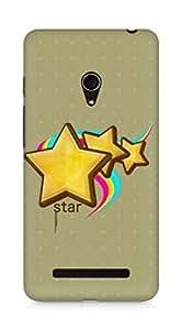 Amez designer printed 3d premium high quality back case cover for Asus Zenfone 5 (Stars)
