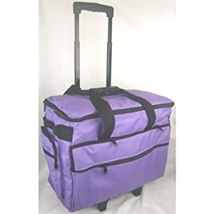 Classy Sewing Machine Trolley in Purple from Classy