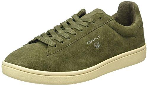 GANTAce - Scarpe da Ginnastica Basse Uomo , Verde (Grün (duffle green G75)), 42