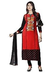 Manvaa Womens Cotton Salwar Unstitched Dress Material