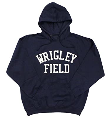 Wrigley Field Chicago Cubs Felt Applique Hoodie