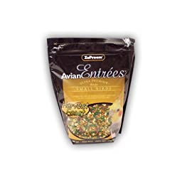 Zupreem Avian Entrees Harvest Feast for Small Bird, 2-Pound