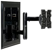 Peerless In Wall Mount 32 - 71 Inches, Black
