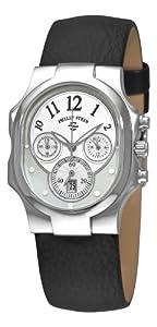 Philip Stein Women's 22-FMOP-CB Classic Chronograph Dial Watch