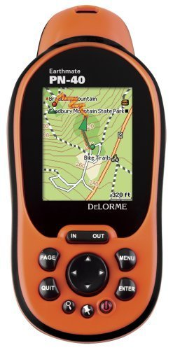 DeLorme Earthmate PN-40 Waterproof Hiking GPS