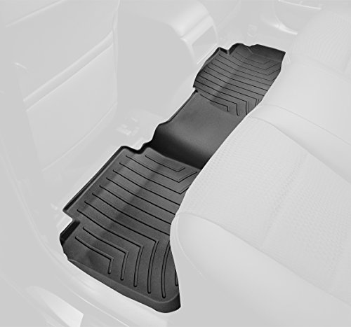WeatherTech Custom Fit Rear FloorLiner for Select Dodge Ram Models (Black) (2010 Dodge Ram Weathertech compare prices)
