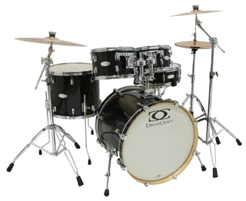 Drum Craft Dc805041 Series 5 Jazz Drum Set - Shadow Black