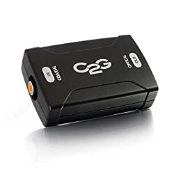 C2G / Cables to Go 40018 Coaxial to Optical Digital Audio Converter