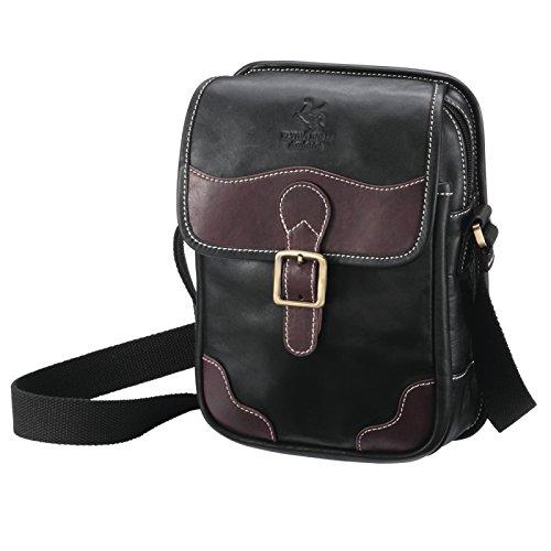 ショルダーバッグ バッグ メンズ Men's 馬革 鞄 かばん カバン 紳士用 オイルホースレザーミニショルダーバッグ 68971