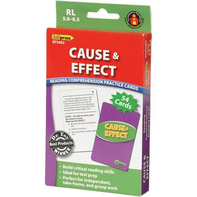 Cause & Effect Practice Cards Green Level - 1