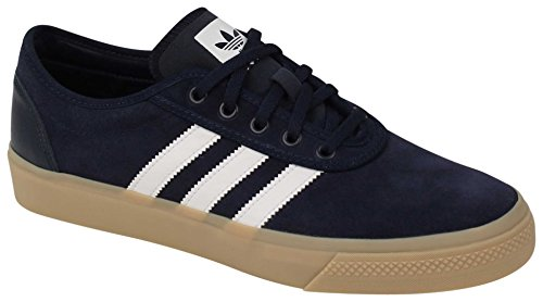 Adidas Performance Men's Adi-Ease Fashion Sneaker, Collegiate Navy/White/Gum, 10.5 M US