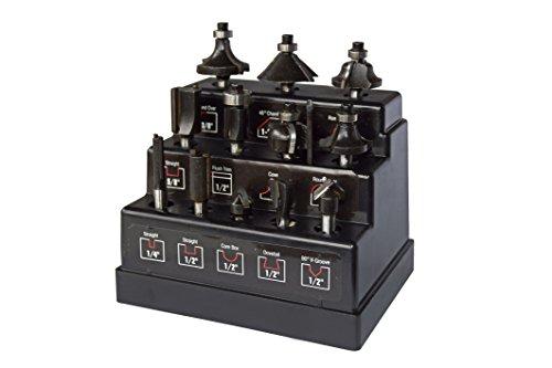 Max-Power 040162 Set Frese per Legno, 12 Pezzi