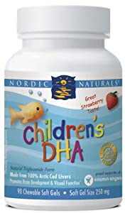 Nordic Naturals Children's DHA Strawberry 90 Softgels