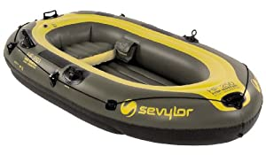 Sevylor Fish Hunter Inflatable 3-person Boat