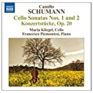 Schumann, C.: Cello Sonatas