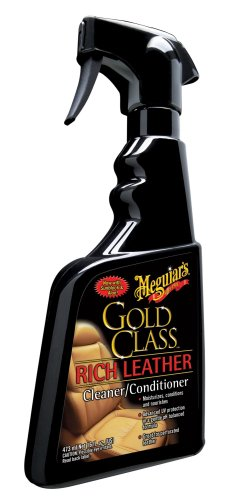 Meguiar's G10916 Gold Class Rich Leather Spray, 15.2 oz.