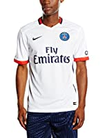 Nike Camiseta de Fútbol Psg Away Stadium 2015/2016 Kids (Blanco)