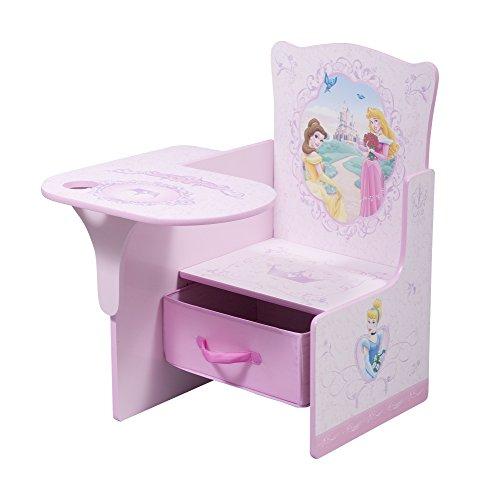 Delta Children Chair Desk With Storage Bin, Disney Princess (Princess Table compare prices)
