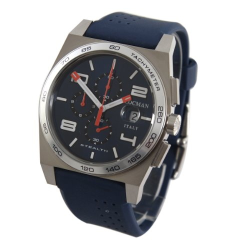locman mens watches uk watches store locman men s stealth t quartz chronograph watch 020900ablwhosib