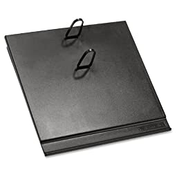 2 X AT-A-GLANCE Loose-leaf Desk Calendar Base for 3.5 x 6 Inch Page Size, Black (E17-00)