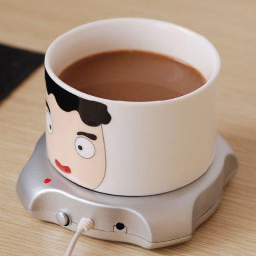 Hot Sale!!! Mini Usb Metal Cup Warmer, Office Coffee Mug Warmer, Price/Piece