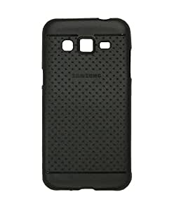 WebKreature Silicon Back Cover Case For Samsung Galaxy J2 - Black