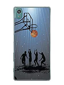 YuBingo Let's Play Basketball Mobile Case Back Cover for Sony Xperia Z5