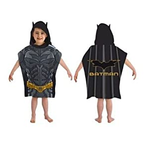 Kids/Childrens Batman Towel, Poncho 100% cotton beach towel