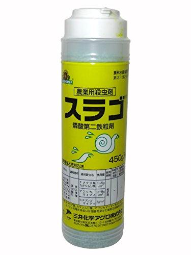 三井化学アグロ 殺虫剤 スラゴ粒剤 450g