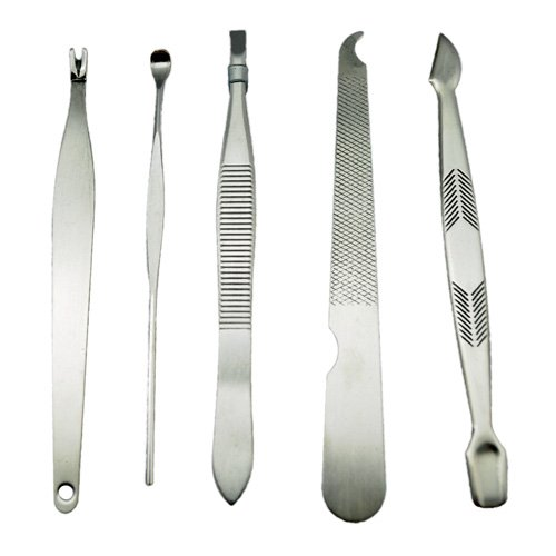 8-in-1-Stainless-steel-Nail-Clippers-Manicure-Pedicure-set