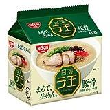 日清 ラ王 袋めん 豚骨 1ケース(30食)(5P入×6袋)